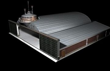 zrakoplovi hangar 3d model 3ds max c4d lwo obj 82262
