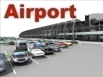 airport 04 3d model 3ds max 90760