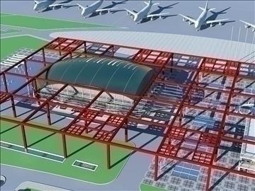 airport 05 3d model 3ds max 90769