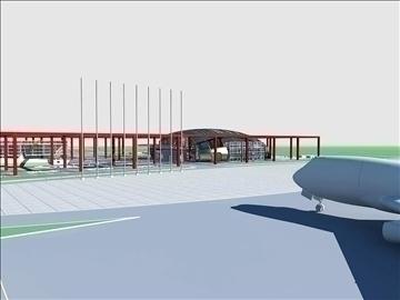 airport 05 3d model 3ds max 90772