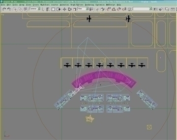 airport 06 3d model 3ds max 90781