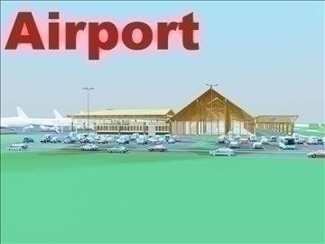 airport 07 3d model 3ds max 90786