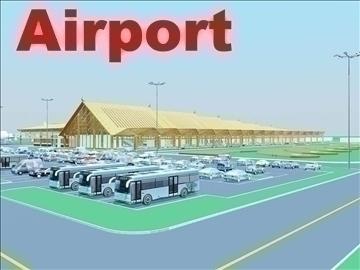 airport 07 3d model 3ds max 90787
