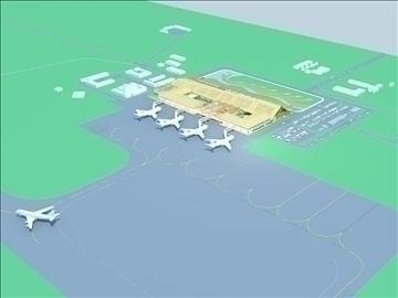 airport 07 3d model 3ds max 90790
