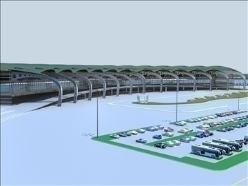 airport 08 3d model 3ds max 90794