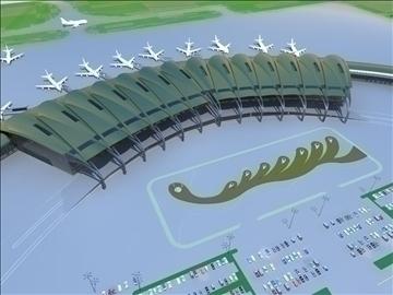airport 08 3d model 3ds max 90797