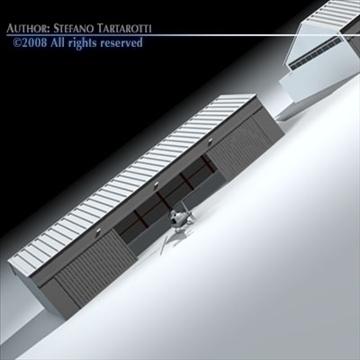 airport hangars 3d model 3ds dxf c4d obj 88861