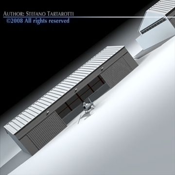 Онгоцны буудлын хошуу 3d загвар 3ds dxf c4d obj 88861