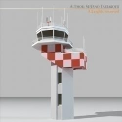 Airport control tower2 ( 35.24KB jpg by tartino )