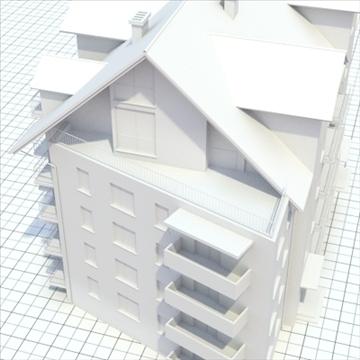 apartment building 2 3d model blend lwo lxo obj 111520