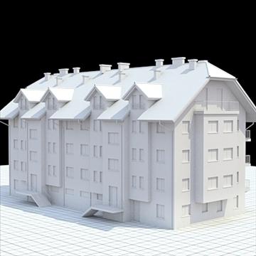 apartman 1 3d modell keverék lwo lxo obj 103549