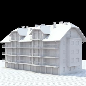 apartment house 1 3d model blend lwo lxo obj 103551
