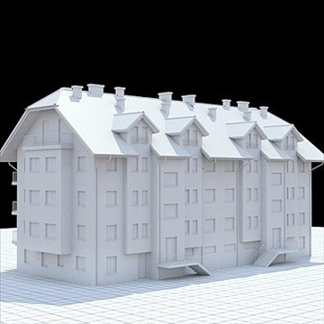 apartment house 1 3d model blend lwo lxo obj 103552