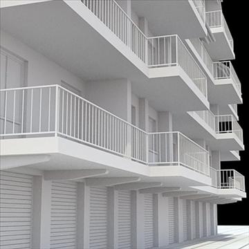 apartment house 1 3d model blend lwo lxo obj 103553