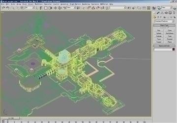 arab mosque 3d model max psd 91805