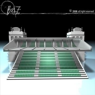 arenas tribune 3d model 3ds dxf c4d obj 88130