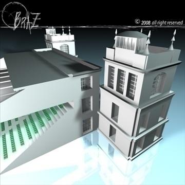 arenas tribune 3d model 3ds dxf c4d obj 88133
