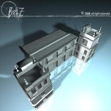 arenas tribune 3d model 3ds dxf c4d obj 88134