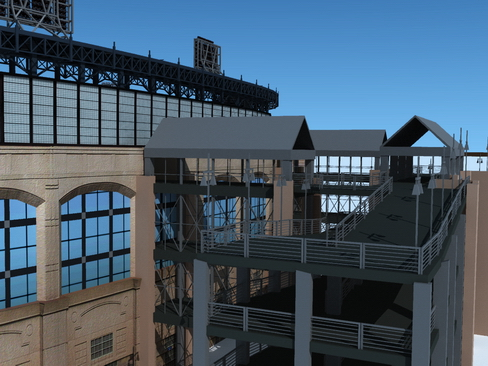 baseball stadium arena 3d model 3ds max c4d lwo ma mb obj 113799