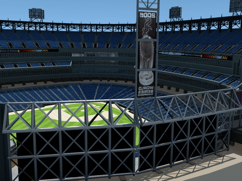 baseball stadium arena 3d model 3ds max c4d lwo ma mb obj 113800