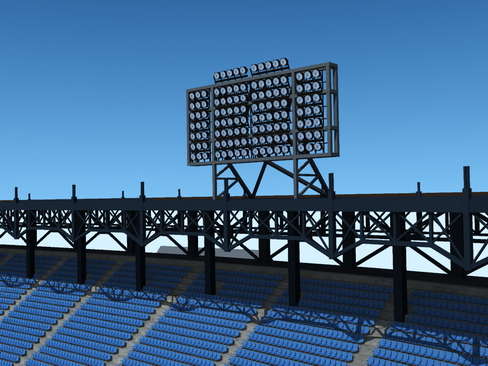 baseball stadium arena 3d model 3ds max c4d lwo ma mb obj 113803