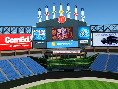 stadium baseball arena 3d model 3ds max c4d lwo ma mb obj 113807