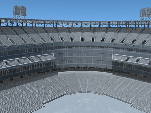 baseball stadium arena 3d model 3ds max c4d lwo ma mb obj 113813