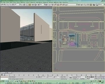 brutalism style building 058 3d model 3ds max psd 90533