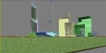 building 001 3d model max psd 90355