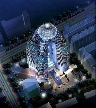 building 015 3d model 3ds max 90404