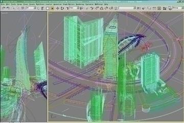 building 018 3d model 3ds max psd 90413