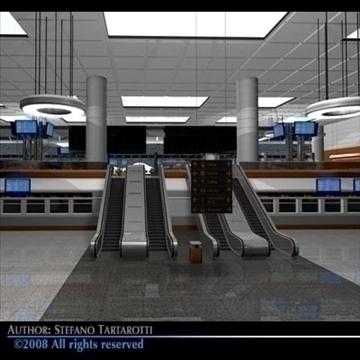 central station 3d model 3ds dxf c4d obj 88278