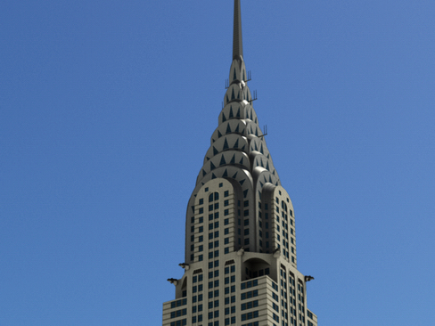 chrysler building 3d model 3ds max obj 114319