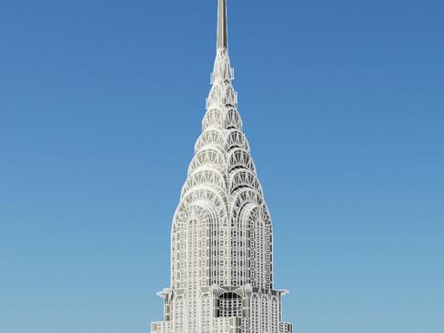 Chrysler zgrada 3d model 3ds max obj 114326