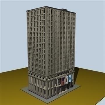 city block 1 3d model max 96282