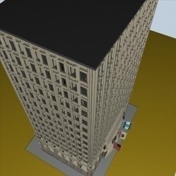city block 1 3d model max 96285