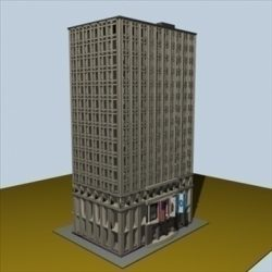 City Block 1 ( 77.4KB jpg by prolithic )