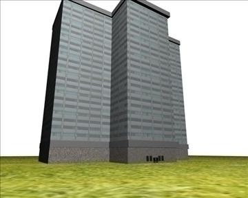 komerciāla ēka 3d modelis cits 98391