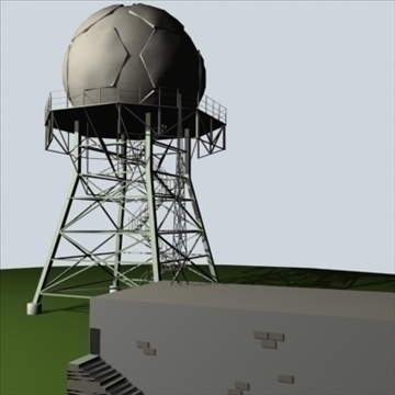 doppler radar complex 3d model 3ds 96287