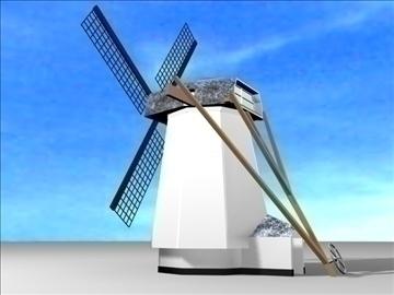 dutch windmill 3d model max 84106