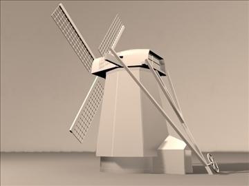 dutch windmill 3d model max 84108