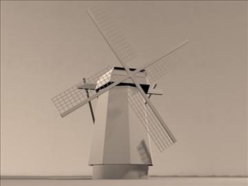 dutch windmill 3d model max 84110