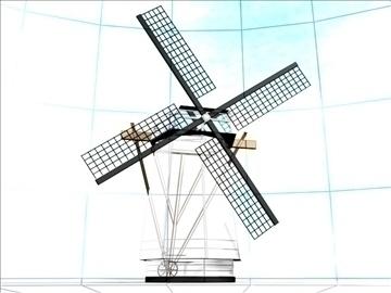 dutch windmill 3d model max 84111