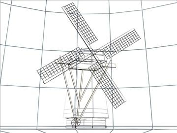 dutch windmill 3d model max 84113