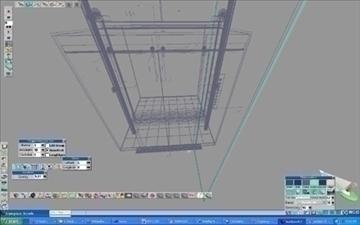 elevator model ts5 scn file 3d model cob 99374