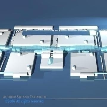 fiera milano trade fair center 3d model 3ds dxf obj other 78910