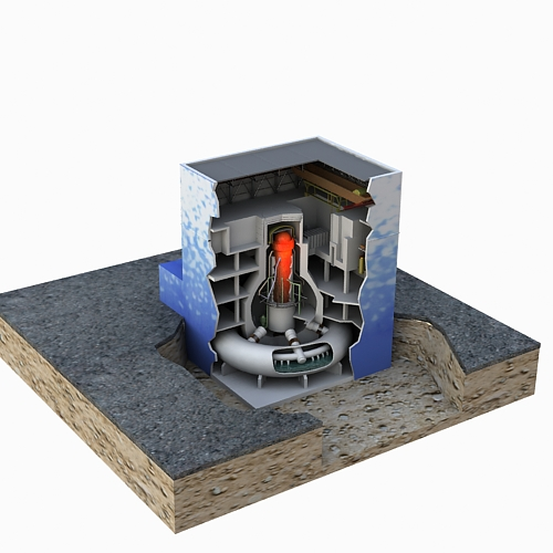 fukushima reactor 3d model max 113635