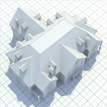 great manor 3d model 3ds blend lwo lxo obj 100038