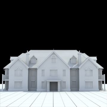 great manor 3d model 3ds blend lwo lxo obj 100040