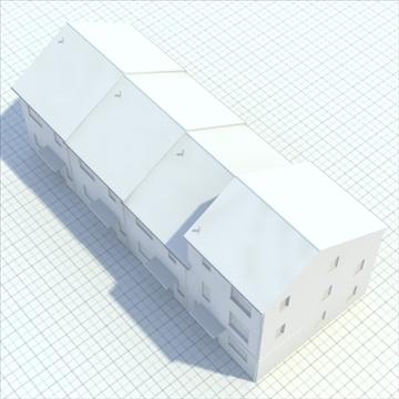 highly detailed english house 2 3d model 3ds blend lwo lxo obj 100080